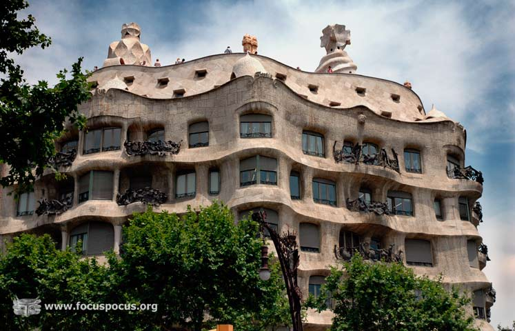 La Pedrera From Across the Street