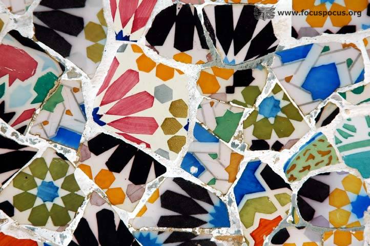 Mosaic Close-up