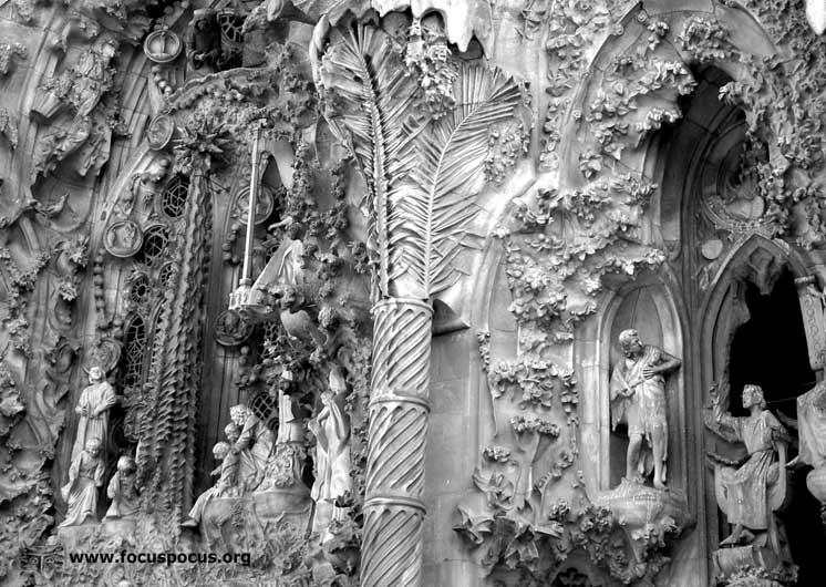 Nativity Facade Detail