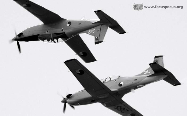 Two Pilatus PC-9M
