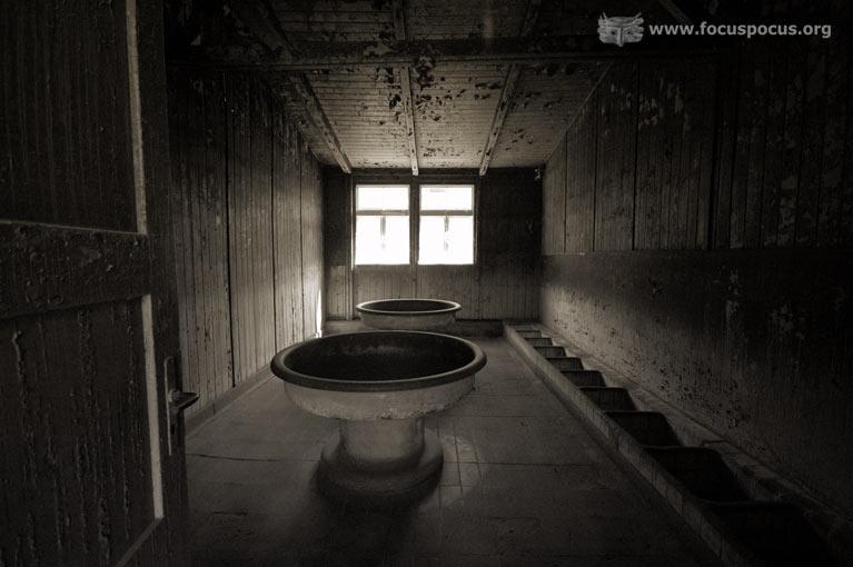 Jewish Barracks Washroom