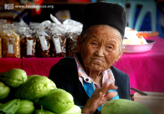 Hmong Old Woman