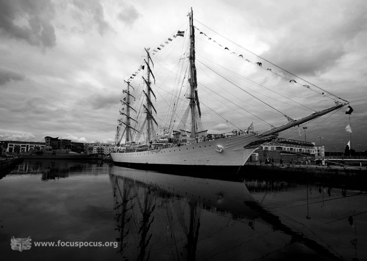 Ara Libertad in Galway Docks