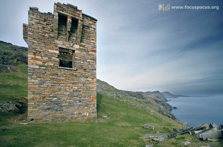Watchtower on Carrigan Head