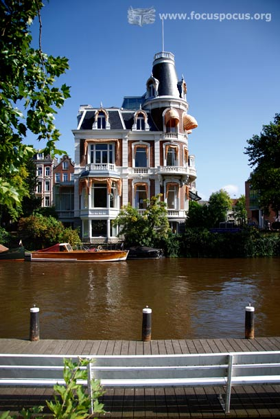 By Museumplein in Amsterdam