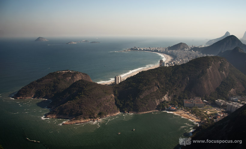 Copacabana from the Sugarloaf Mountain